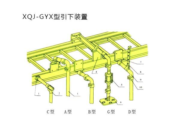 电缆桥架引下装置